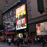 Broadway Avenue Theater District - New York City, NY