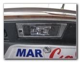 Chrysler 200 License Plate Lights Light Bulbs Replacement Guide