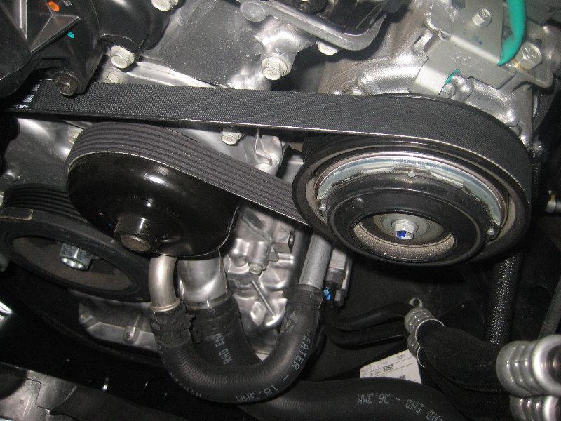 Chrysler Pentastar V Engine Serpentine Belt Replacement Guide