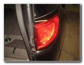 2017 Pacifica Tail Lights Chrysler Minivan Light Bulbs Replacement Guide