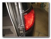 Replace Lower Chrysler Pacifica Minivan Tail Light Bulbs Replacement Guide