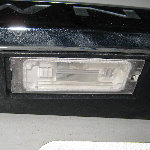 Chrysler Town & Country License Plate Light Bulb Replacement Guide