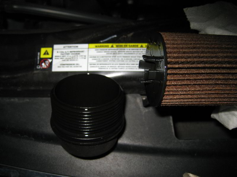 How to change oil filter on 2011 grand caravan 11