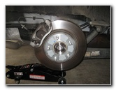 Chrysler Town & Country Rear Brake Pads Replacement Guide