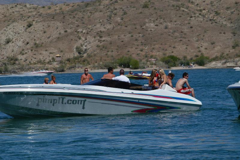 ... Canyon boat party held in Lake Havasu in San-Bernardino, California