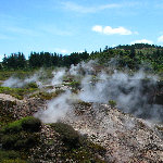 Craters of the Moon  - Taupo, New Zealand