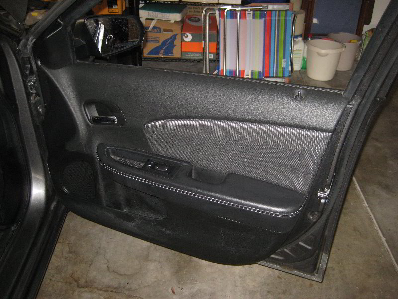 Dodge Avenger Interior Door Panel Removal Guide 054