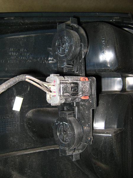 how to change signal light dodge caravan