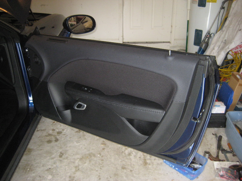 Dodge Challenger Interior Door Panel Removal Guide 057