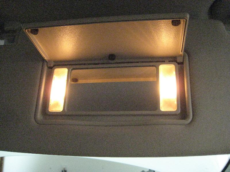 dodge durango vanity mirror light bulbs replacement guide 010. Black Bedroom Furniture Sets. Home Design Ideas
