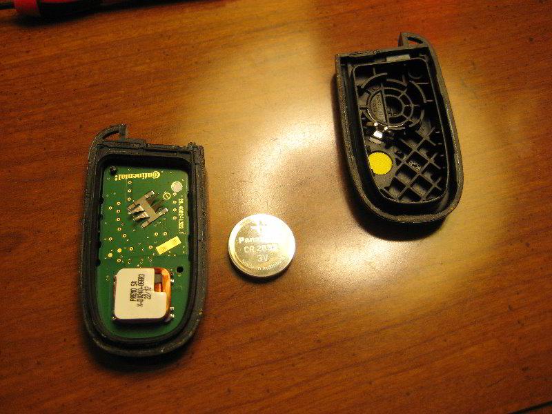 Dodge journey key fob battery