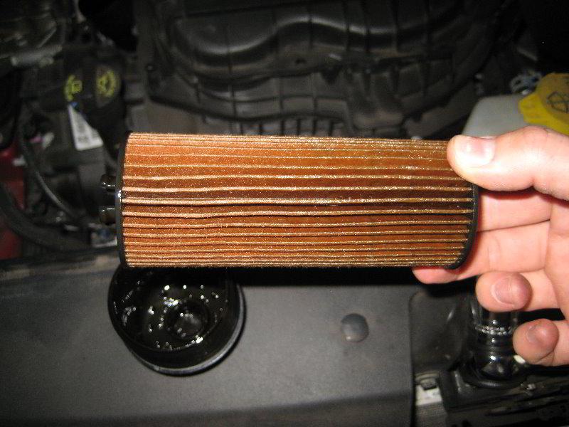 Dodge Journey Pentastar V6 Engine Oil Change Guide 016