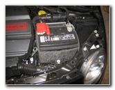 fiat 500 12v automotive battery replacement guide 2008. Black Bedroom Furniture Sets. Home Design Ideas