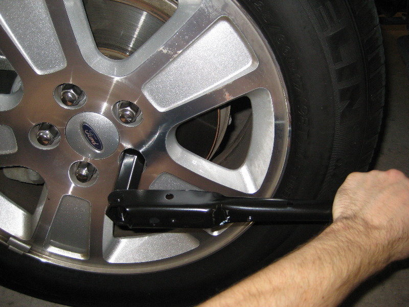 how to change front brake pads on 2011 ford f150
