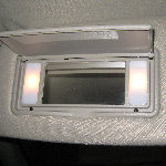 1998-2011 Ford Crown Victoria Vanity Mirror Light Bulb Replacement Guide