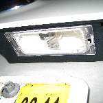 Ford Edge License Plate Light Bulb Guide