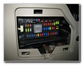 ford escape electrical fuse replacement guide 2008 to 2012 model 2002 Ford Escape Fuse Box Location