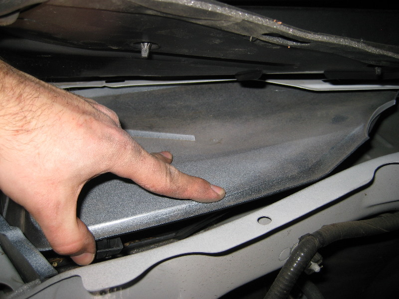 Replacing Cabin Air Filter 2009 Ford Escape