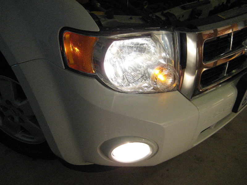 Headlight Replacement Guide : Ford escape turn signal free engine image for