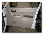 Ford Escape Interior Door Panel Removal Guide