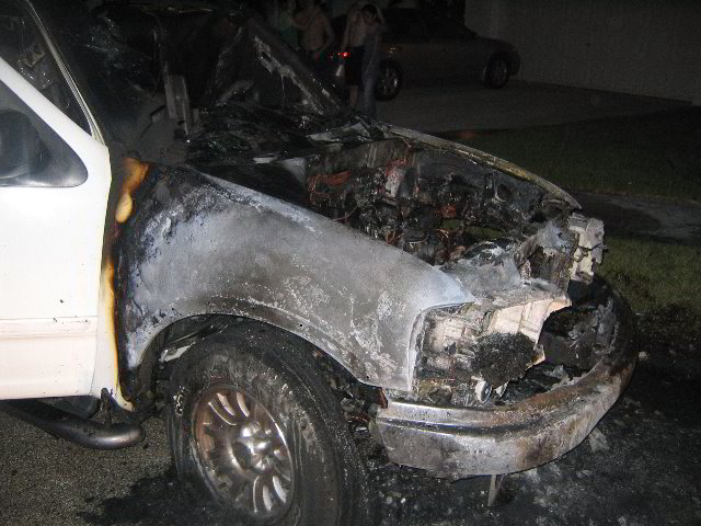 Ford Expedition Engine Fire  Jpg
