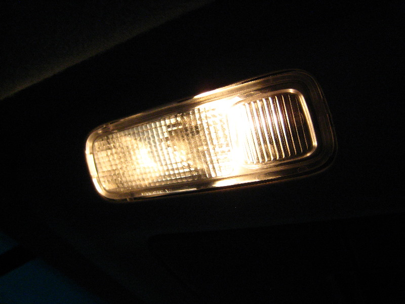 Ford expedition overhead map light bulbs replacement guide 012