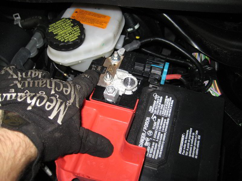 Positive Battery Terminal And Using Jumper Cables