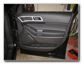 Ford Explorer Interior Door Panel Removal Guide