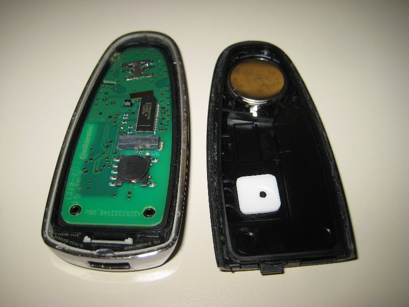 Ford galaxy key fob battery replacement