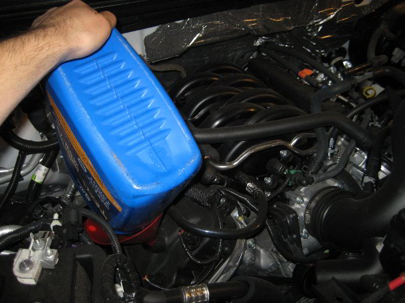F150 ford oil change instructions for Motor oil guide for cars