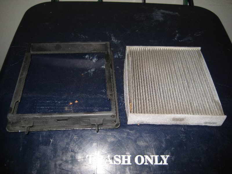 Ford Mustang Cabin Air Filter Replacement Guide 015