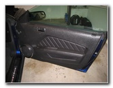 Ford Mustang Interior Door Panel Removal Guide