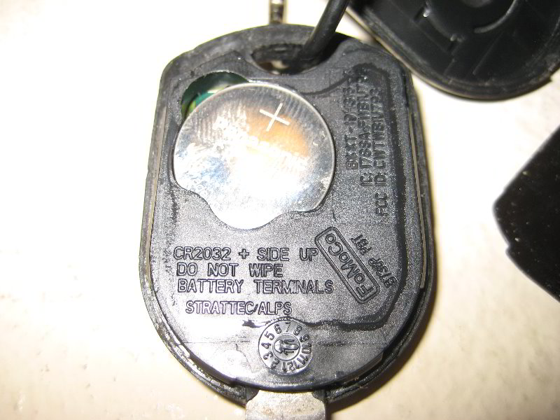 How To Change Ford Key Fob Battery Territory