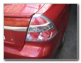 2007-2011 GM Chevrolet Aveo Tail Light Bulbs Replacement Guide
