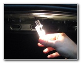 Chevrolet Camaro Trunk Light Bulb Replacement Guide 2010