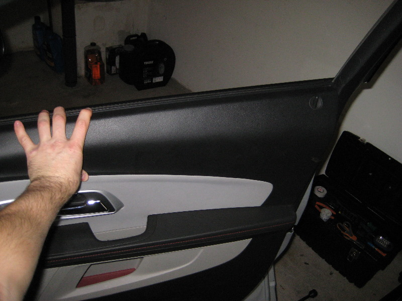 service manual how to remove 2007 chevrolet equinox door panel how to remove door panels on. Black Bedroom Furniture Sets. Home Design Ideas