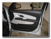 Chevy Equinox Interior Door Panel Removal Guide