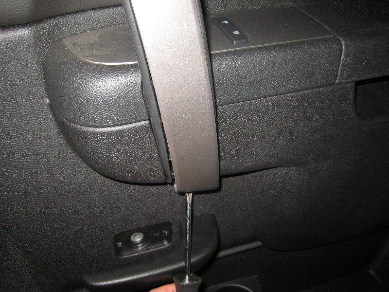 Chevrolet Silverado Interior Door Panel Removal Guide 017