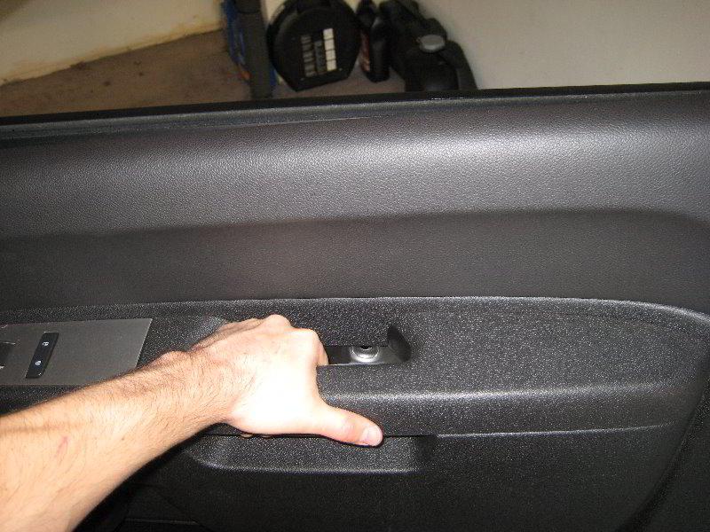 Chevrolet Silverado Interior Door Panel Removal Guide 027