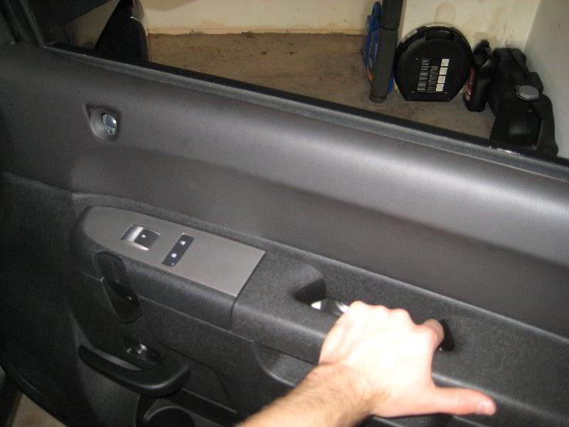 How To Remove Interior Door Panel Chevy Silverado 2002