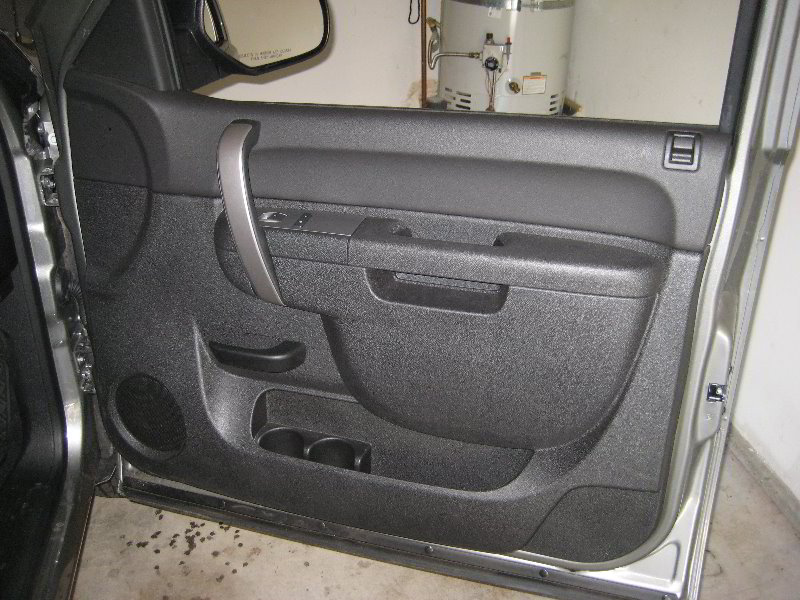 chevy silverado door panel autos post