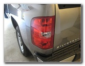 Gm Chevrolet Silverado Tail Light Bulbs Replacement Guide