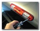 Gm Chevrolet Silverado Third Brake Light Bulbs Replacement