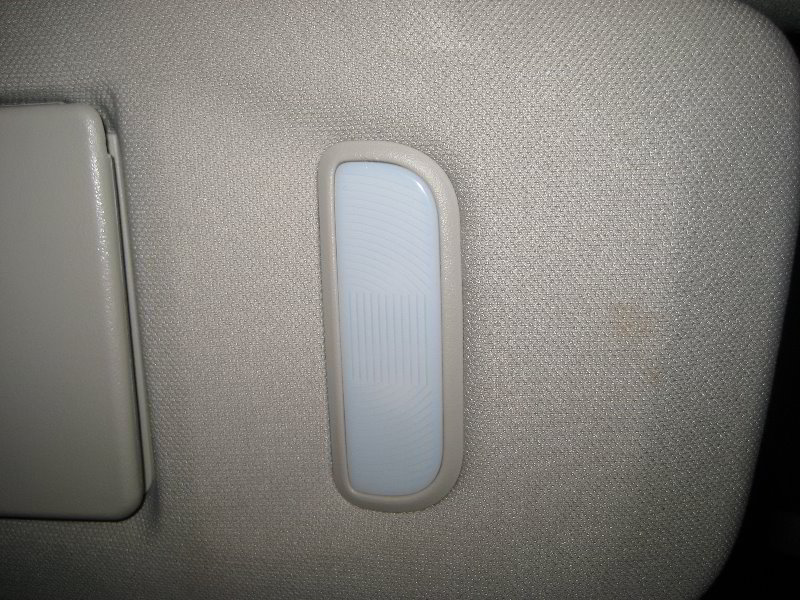 chevrolet silverado vanity mirror light bulbs replacement guide 011. Black Bedroom Furniture Sets. Home Design Ideas