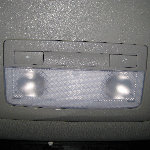 GM Chevrolet Sonic Map Light Bulbs Replacement Guide