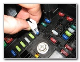 tn_GM Chevrolet Traverse Electrical Fuse Replacement Guide 011 gm chevrolet traverse electrical fuse replacement guide 2009 to 2011 cts fuse box at bayanpartner.co