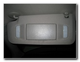 Chevy Traverse Vanity Mirror Light Bulbs Replacement Guide
