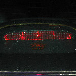 GM Pontiac Grand Prix Third Brake Light Bulb Guide