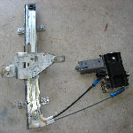 GM Power Window Motor & Regulator Replacement