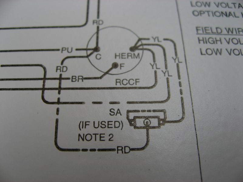 Dual Run Capacitor Wiring Wiring Solutions